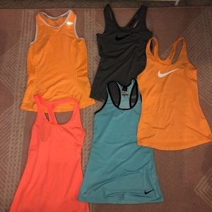 Nike dry fit tank tops